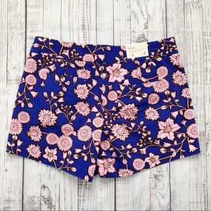 J.Crew Floral City Fit Chino Shorts | NWT | 8